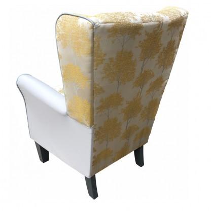 keaton dijon york wingback chair back