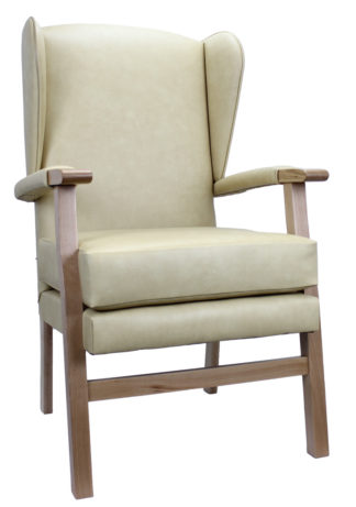 Newark Gold Fireside Chair