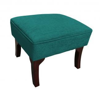 orchard footstool teal side view