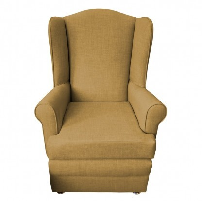 orthopedic chair front gold