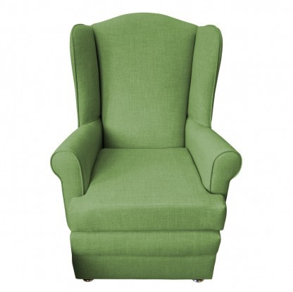orthopedic chair front lime