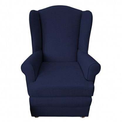 orthopedic chair front midnight