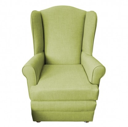 orthopedic chair front olive