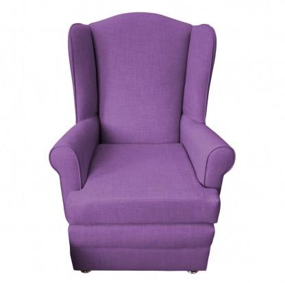 orthopedic chair front purple