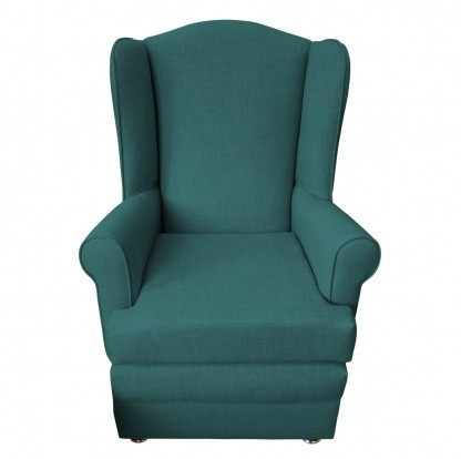 orthopedic chair front teal
