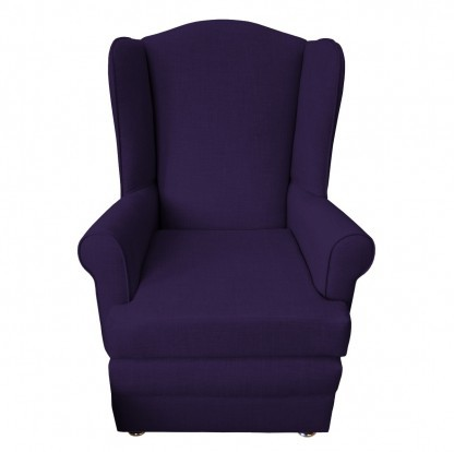 orthopedic chair front violet