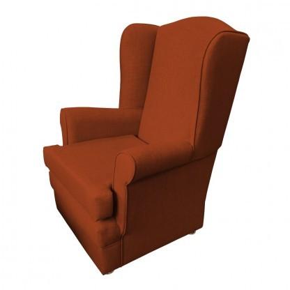 orthopedic chair side burnt orange