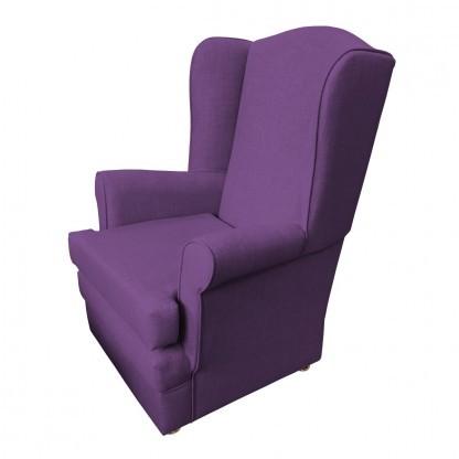 orthopedic chair side purple