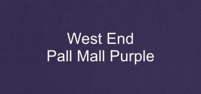 West End Pall Mall Purple Fabric
