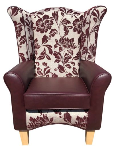 piza mulberry orthopaedic chair front view