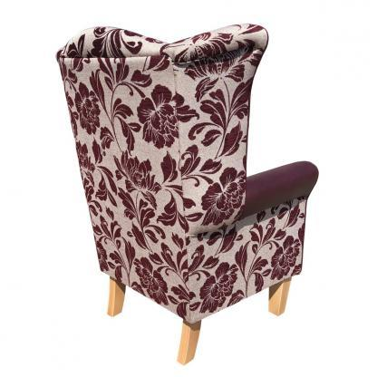 piza mulberry orthopaedic chair rear view