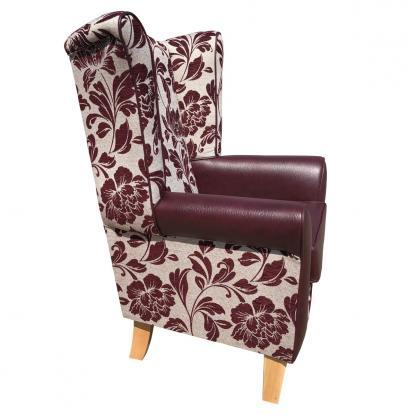 piza mulberry orthopaedic chair side view