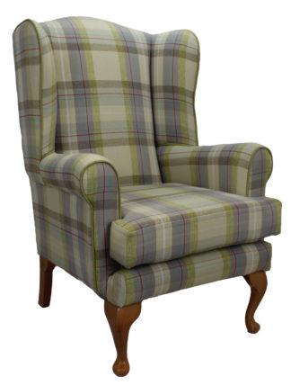 Queen Anne Cairngorm Moss Orthopedic Chair