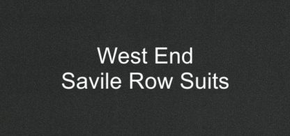 West End Savile Row Suits Fabric